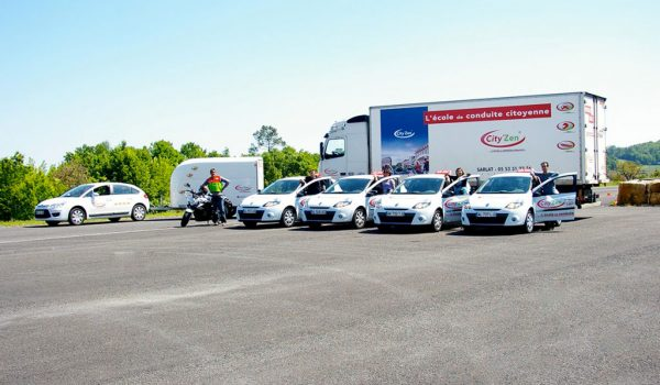 City'zen Sarlat équipe et véhicules